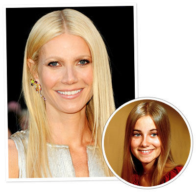 Gwyneth Paltrow - Maureen McCormick - Straight Hair - Long Hair - Classic Hairstyles