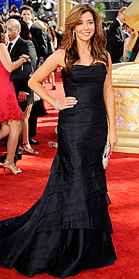 Alyson Hannigan - Vera Wang - Fashion Trends - 2009 Emmy Awards