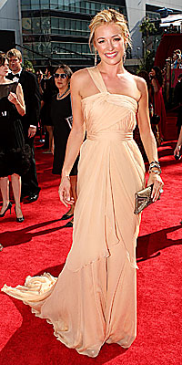Cat Deeley - Alberta Ferretti - Trends - Grecian - Emmy Awards