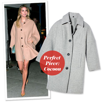 Ivanka Trump - Find Your Most Flattering Coat - Broad Shoulders