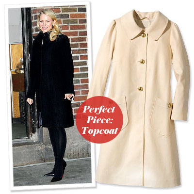 Naomi Watts - Find Your Most Flattering Coat - Tummy