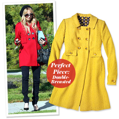 Nicole Richie - Find Your Most Flattering Coat - Boyish Frame