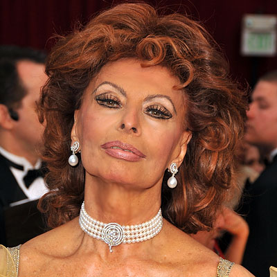 Sophia Loren - Transformation - hair and makeup
