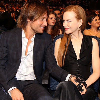 Keith Urban and Nicole Kidman - 2010 People's Choice Awards