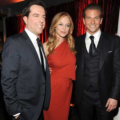Parties - Ed Helms, Heather Graham and Bradley Cooper - 2010 Critics' Choice Awards