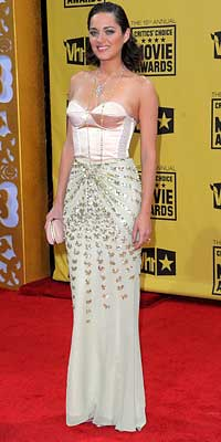 Parties - Marion Cotillard in Dior - 2010 Critics' Choice Awards