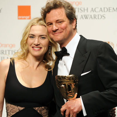 <p>Kate Winslet and Colin Firth</p>