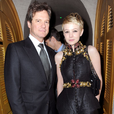 <p>Colin Firth and Carey Mulligan</p>
