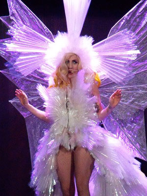 "Watch Lady Gaga's ""Living Dress"" Come To Life"