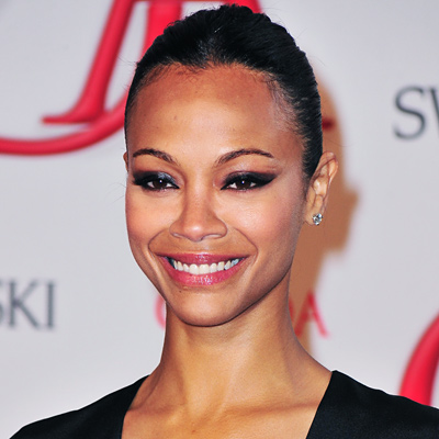 Zoe Saldana - Transformation - Hair - Celebrity Before and After
