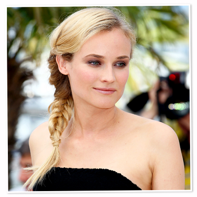 Diane Kruger-braid-hair