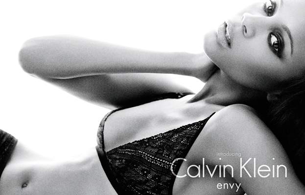 Zoe Saldana is Latest Face of Calvin Klein Underwear