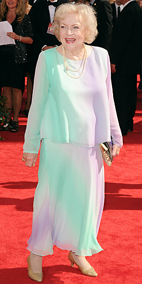 2010 Emmy Awards Fashion - Betty White