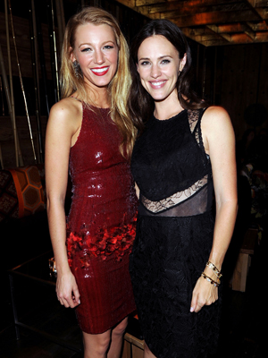 Blake Lively & Jen Garner Celebrate The Town with InStyle