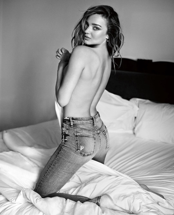 Miranda Kerr for 7 For All Mankind