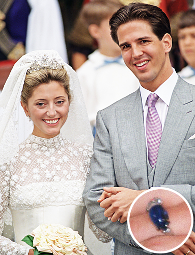Royal Rocks The Engagement Rings of Princess Brides InStylecom
