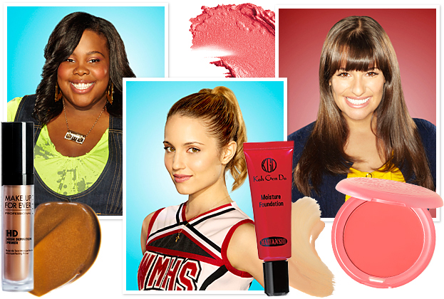 Glee Makeup Secrets, Straight From the Set!