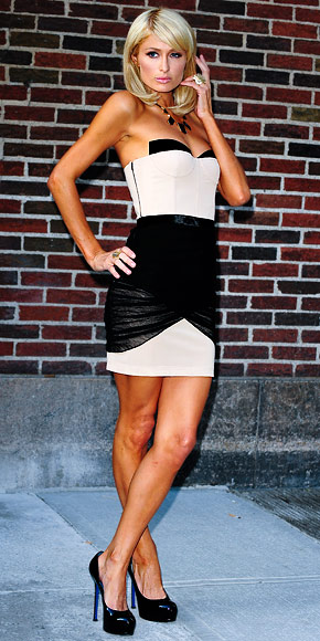 Paris Hilton - 30 Most Memorable Looks - Alexander Wang - Birthday