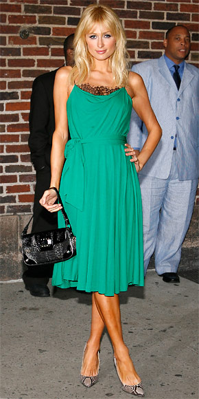 Paris Hilton - 30 Most Memorable Looks - Diane von Furstenberg - Birthday