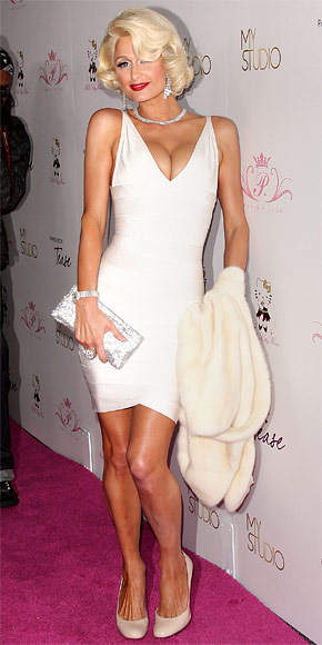 Paris Hilton - 30 Most Memorable Looks - Herve Leger - Birthday