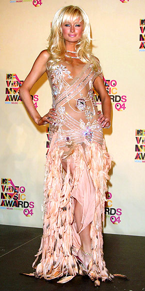 Paris Hilton - 30 Most Memorable Looks - Roberto Cavalli - Birthday