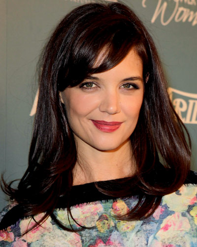 Katie Holmes - Our Favorite Brunets - Brunet Hair