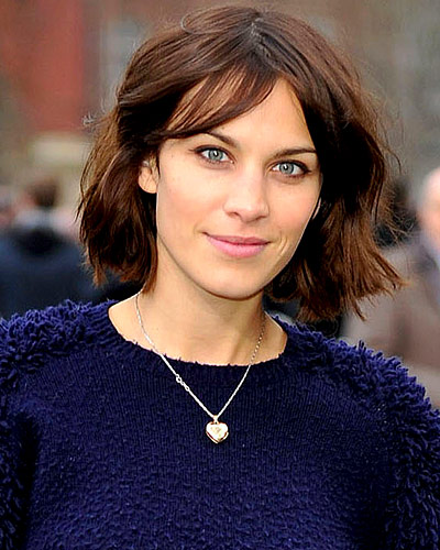 Alexa Chung - Our Favorite Brunets - Brunet Hair