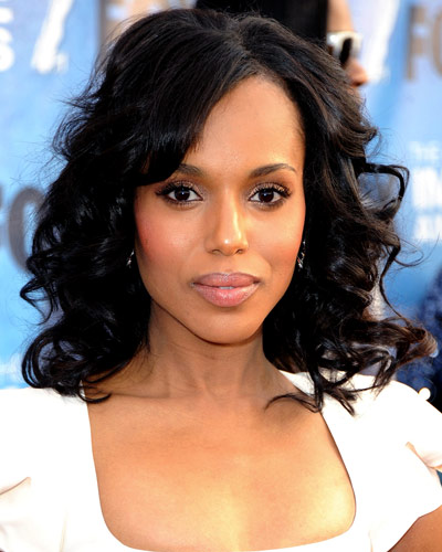 Kerry Washington - Our Favorite Brunets - Brunet Hair
