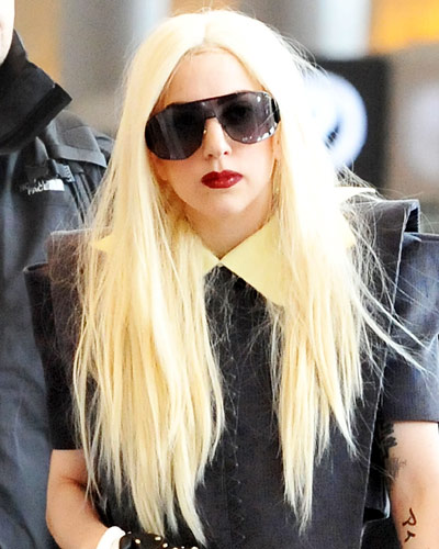 Lady Gagas 25 Most Outrageous Hairstyles Instyle