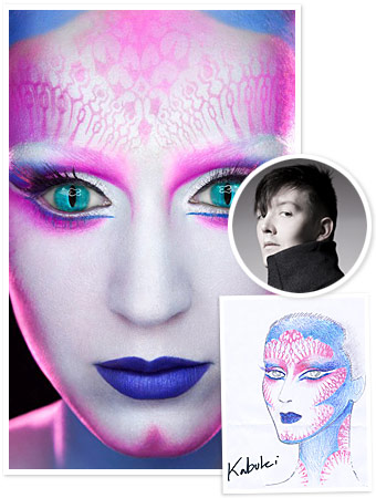 Katy Perry's 'E.T.' Video: Makeup Artist Kabuki Tells All!