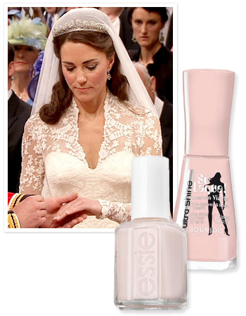 Kate Middleton's Wedding Day Nail Polish: The Exact Shades