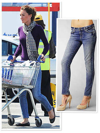 Found It! Kate Middleton's Skinny Jeans