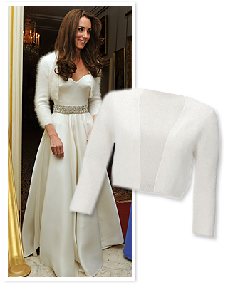 Kate Middleton Inspires Rise of Bridal Bolero Sales