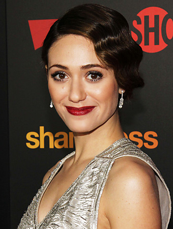 Have You Ever Worn Finger Waves Like Emmy Rossum?