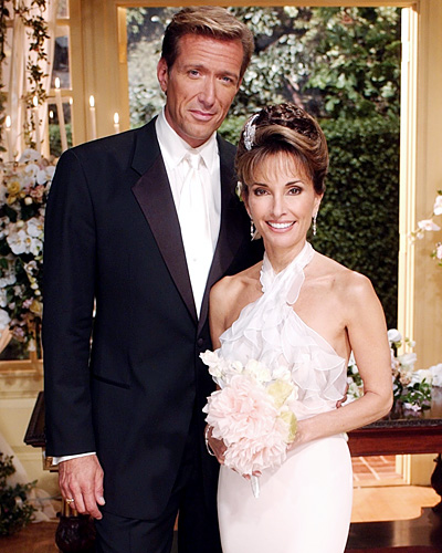Erica Kane and Jackson Montgomery - All My Children wedding - Susan Lucci and Walt Willey