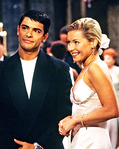 Kelly Ripa and Mark Conseulos wedding - All My Children wedding - Hayley Vaughan and Mateo Santos wedding