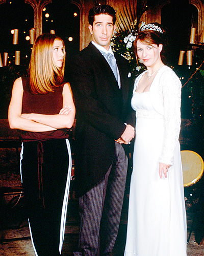 Ross Geller and Emily Wedding - Friends Wedding - David Schwimmer and Jennifer Aniston