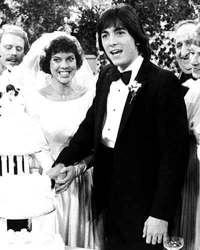 Joanie Cunningham and Chachi Arcola - Erin Moran and Scott Baio - Happy Days Wedding