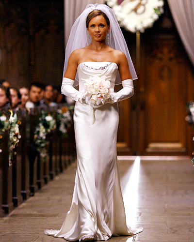 Ugly Betty wedding - Wilhelmina Slater and Bradford Meade - Vanessa Williams
