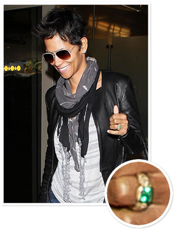 Halle Berry, Olivier Martinez, Engagement Ring