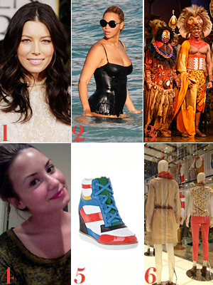 Jessica Biel Shops in Paris, Beyonce's Bathing Suit Body, and More!