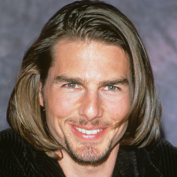 tom cruise hair style tom cruise s changing looks instyle 1407