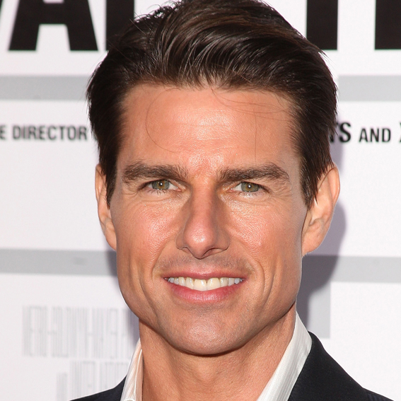 how to style hair like tom cruise tom cruise s changing looks instyle 3308