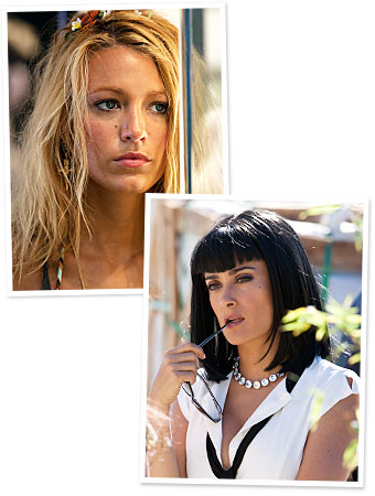 Savages, Blake Lively, Salma Hayek