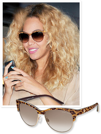Would You Wear Beyonce's Leopard-Print Sunglasses?