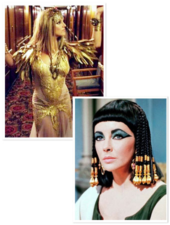 Celebrity Cleopatras: Britney Spears, Elizabeth Taylor, and More