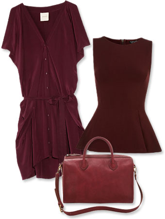 Burgundy: How to Wear the Color of Fall