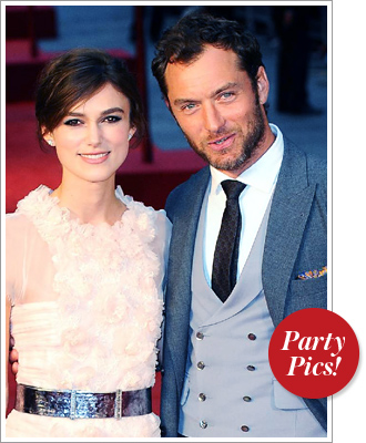 This Week's Hottest Parties: Keira Knightley, Jude Law, and More!