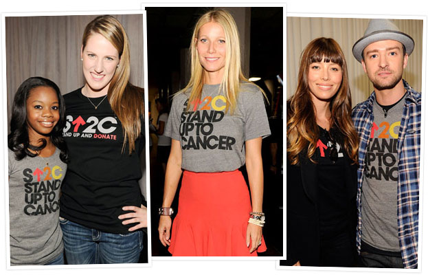 2012 Stand Up To Cancer: Justin Timberlake, Jessica Biel, Gwyneth Paltrow and More Stars