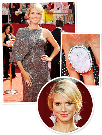 What to Look for at the Emmys Tonight: Heidi Klum's Jewelry